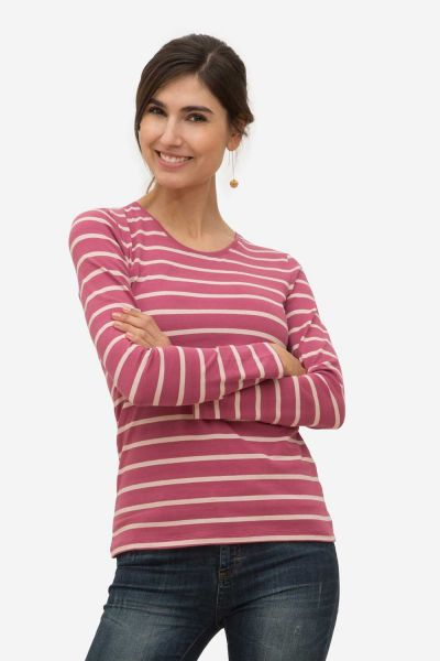 Stillshirt Umstandsshirt Milker Nuka pink striped (vip)