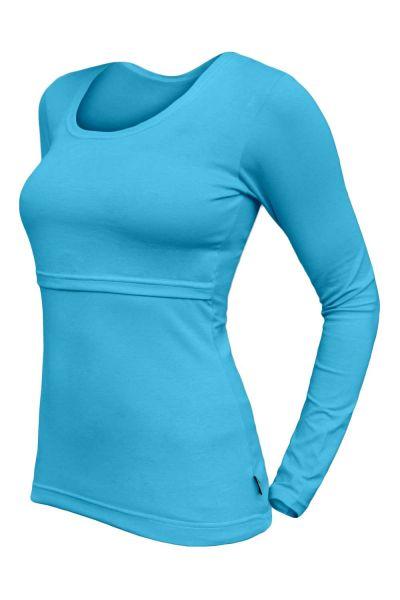 Lara Stillshirt turquoise