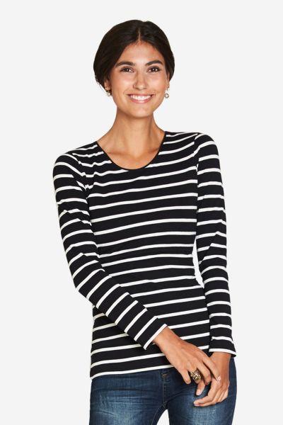Stillshirt Umstandsshirt Milker Nuka black/cream