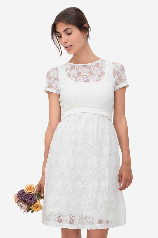 Milker Zissi festliches Stillkleid Partykleid Hochzeitskleid Gr ...