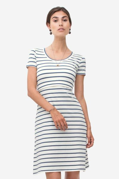 Milker Sofia creme striped