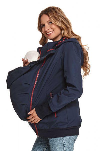 Amyline Beena 3-in-1 softshell draagjack Zwangerschapsjack