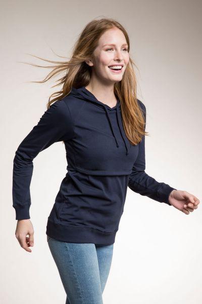 Boob 0219 Stillshirt Umstandsshirt midnight blue