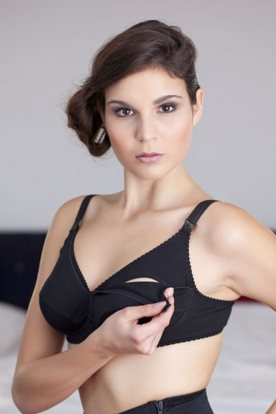 Hannah Still-BH schwarz