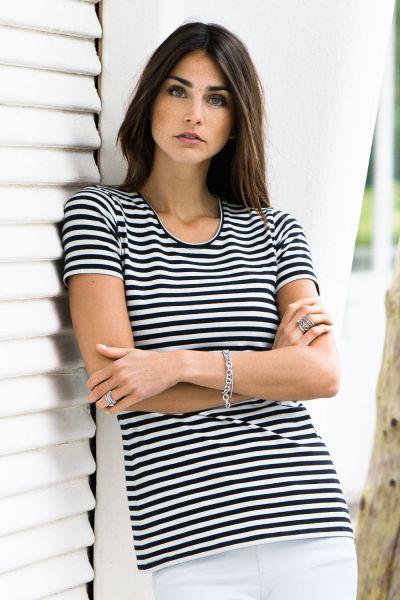 Milker Noor Kurzarm-Stillshirt