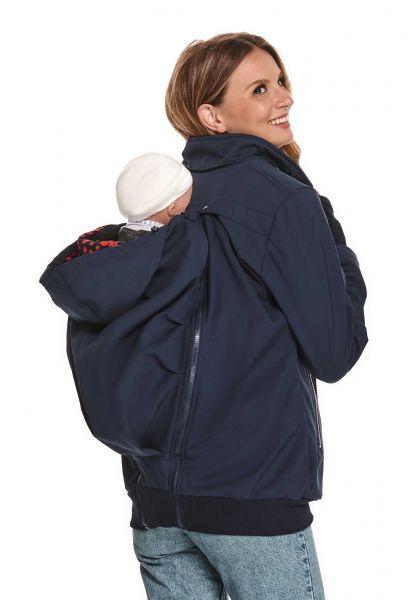 Amyline Ylvi veste softshell maternité et de portage 4en1