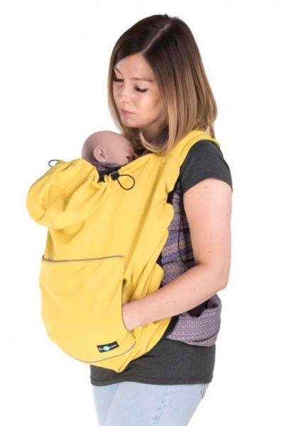 fun2Bmum Babywearing Cover mustard