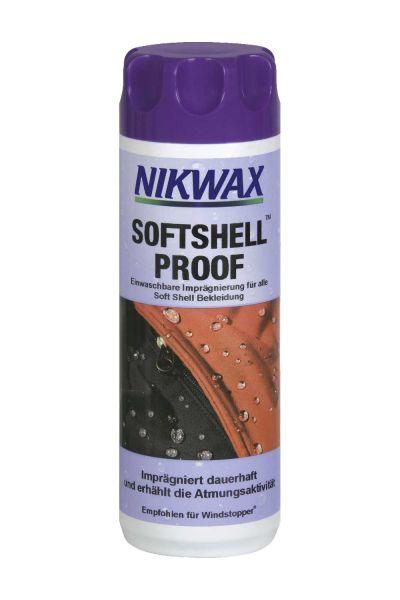 Nikwax Softshell® Proof Wash-In Imprägnier-Waschmittel für Softshellbekleidung 300 ml
