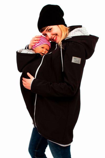 Viva la Mama Mellory black manteau de portage