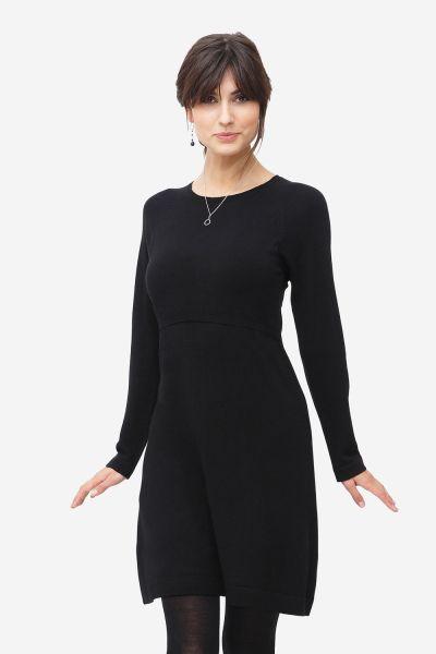Milker Loma Stillkleid Umstandskleid black (blk)