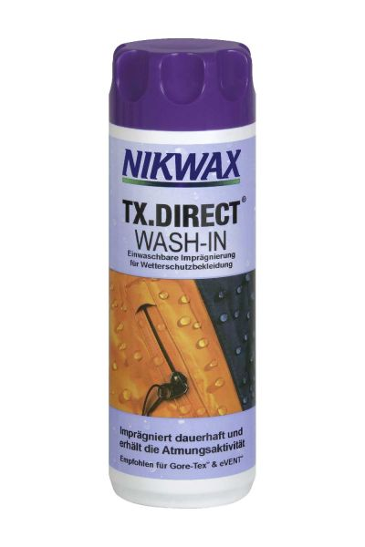 Nikwax TX Direct® Wash-In Imprägnierwaschmittel für Membranbekleidung 300 ml