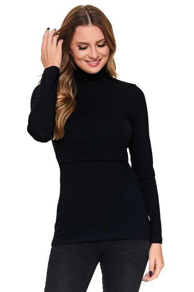 Emilia Stillshirt schwarz