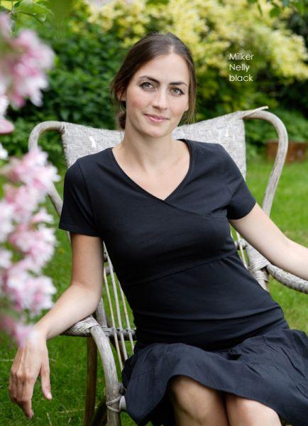 Milker Nelly Kurzarm-Stillshirt