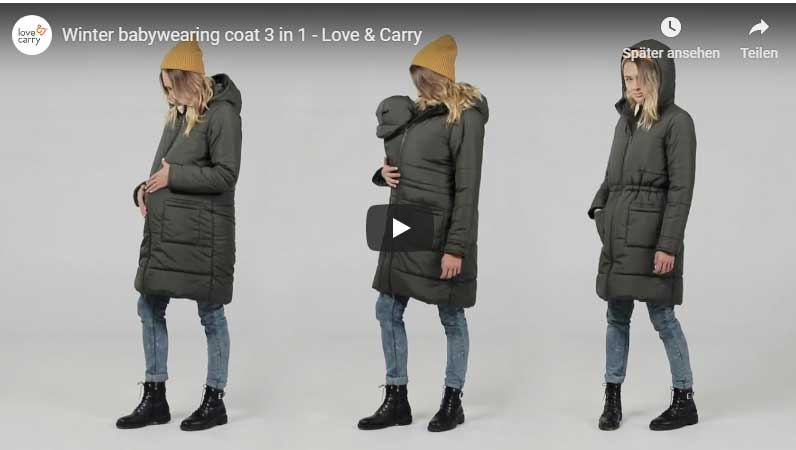 Tragejacke Love&Carry Video